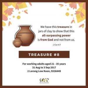 TREASURE#8: 31st August to 3rd September 2017 @ OFFICE FOR YOUNG PEOPLE  | Singapore | Singapore