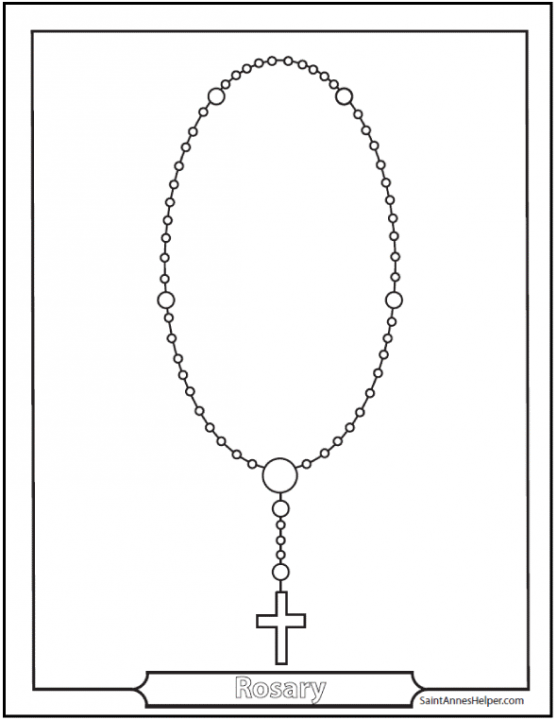 This is an image of Decisive How to Pray the Catholic Rosary Printable