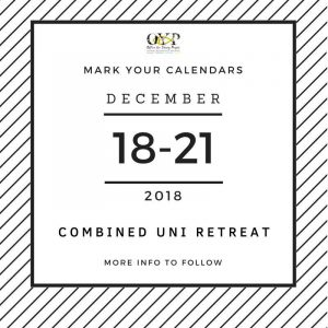 Combined Uni Retreat 2018 @ Office for Young People | Singapore | Singapore