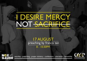 Nox Gaudii: I Desire Mercy Not Sacrifice