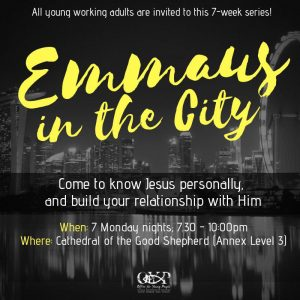 Emmaus in the City @ Cathedral of the Good Shepherd | Singapore | Singapore